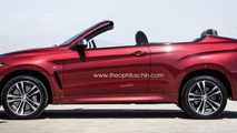 New BMW X6 rendered as a convertible SUV