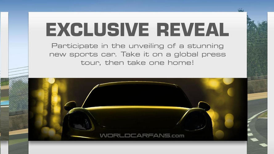 Porsche Cayman GT4 teased in Real Racing 3