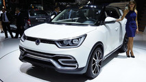 SsangYong XIV-Air concept live in Paris
