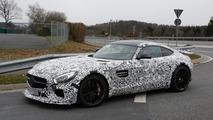 High-performance Mercedes-AMG GT prototype spy photo