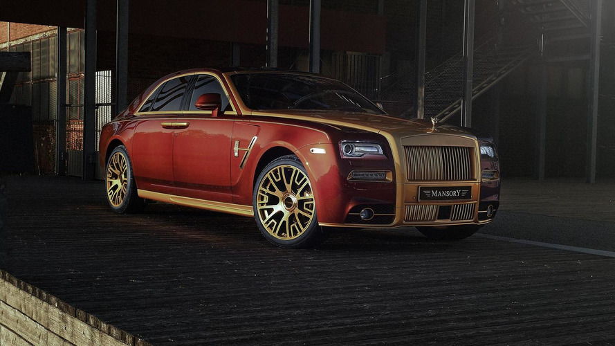 Mansory tricks out Rolls-Royce Ghost Series II in a good way