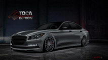 Hyundai Genesis by Toca Marketing for SEMA