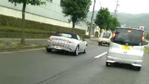 2015 Mazda MX-5 spied wearing a production body [video]