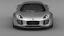 Gumpert Tornante production trademark design sketches leaked