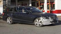2014 Mercedes E-Class facelift spy photos 23.07.2012