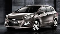 Hyundai i30 Wagon revealed ahead of Geneva world debut