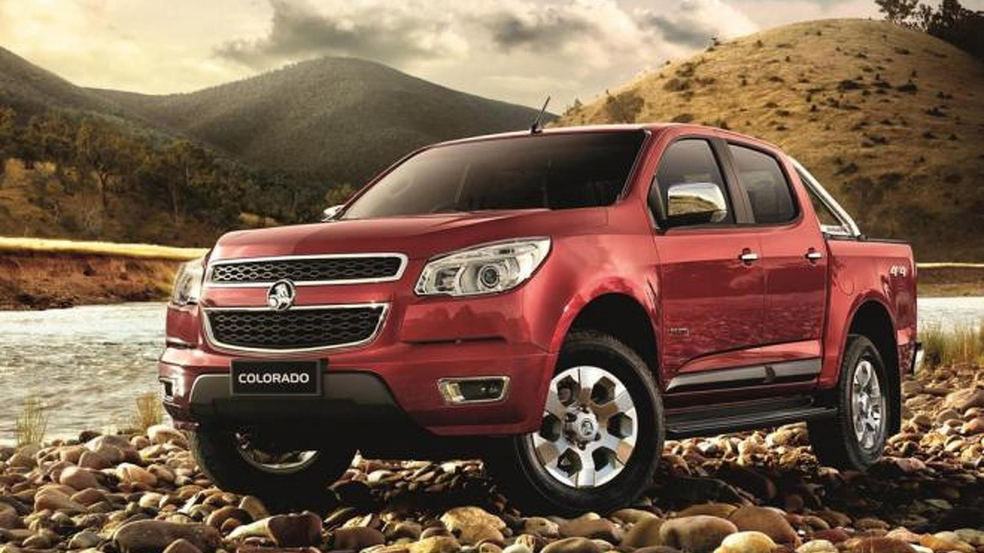 2012 Holden Colorado revealed