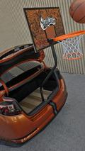 Kia Optima Hybrid Slam Dunk for SEMA - 2.11.2011