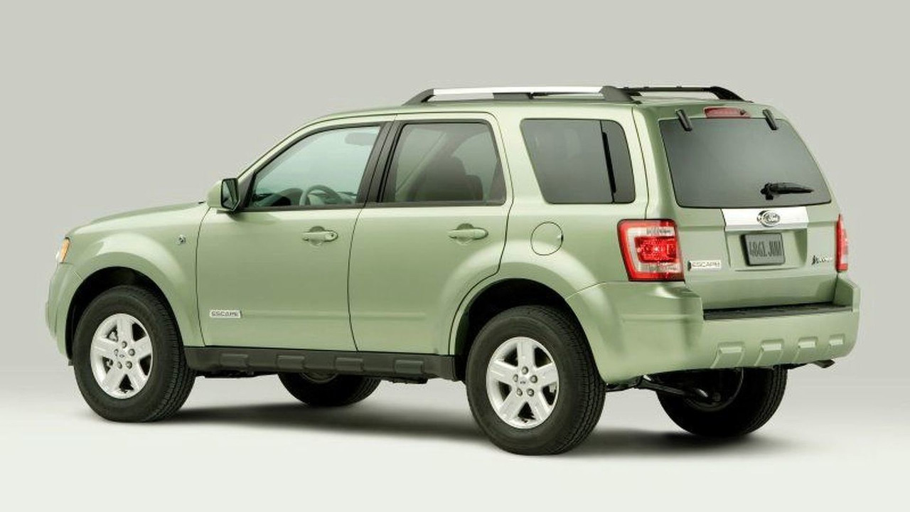 All New 2008 Ford Escape Hybrid