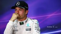 Nico Rosberg, Mercedes AMG F1 in the FIA Press Conference