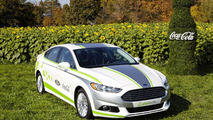 Ford Fusion Energi with Coca-Cola PlantBottle Technology 15.11.2013