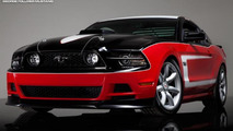 2014 Saleen George Follmer Edition Mustang arrives at Laguna Seca