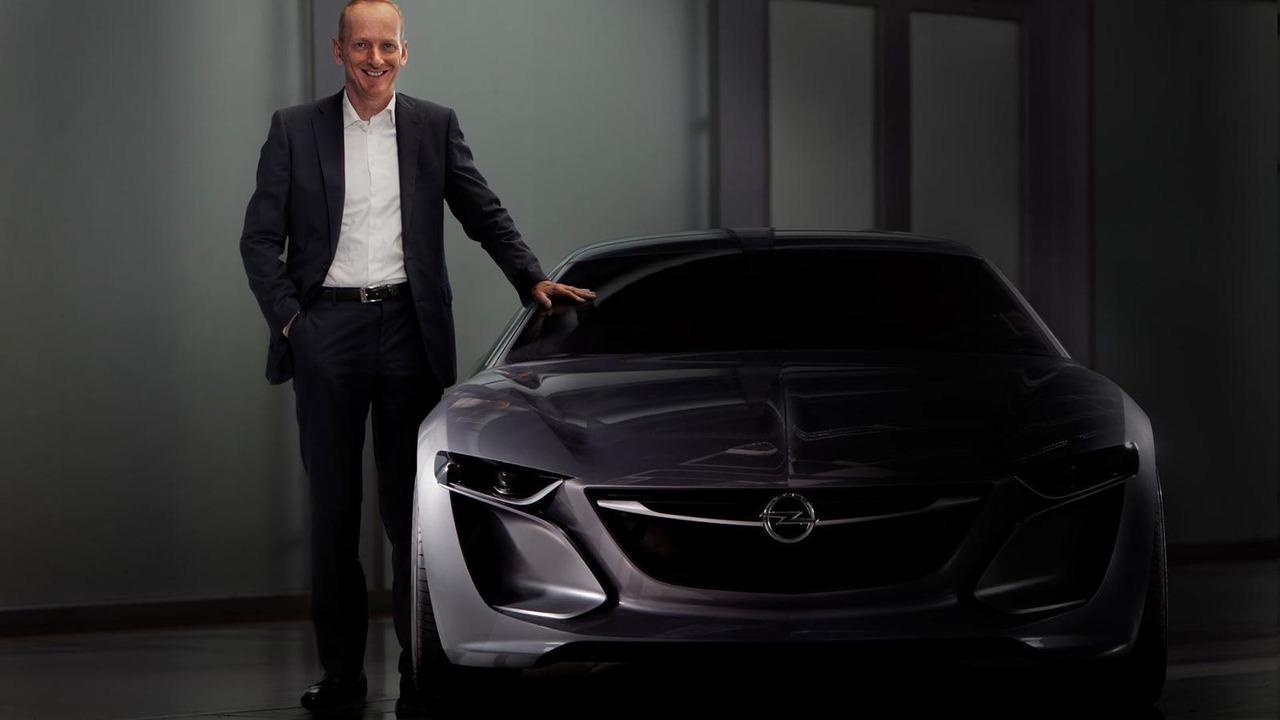 Opel/Vauxhall Monza Concept teaser photo 08.07.2013