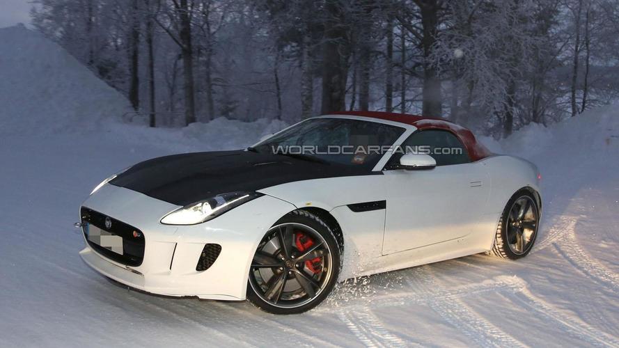 2015 Jaguar F-Type four-cylinder spied in Scandinavia