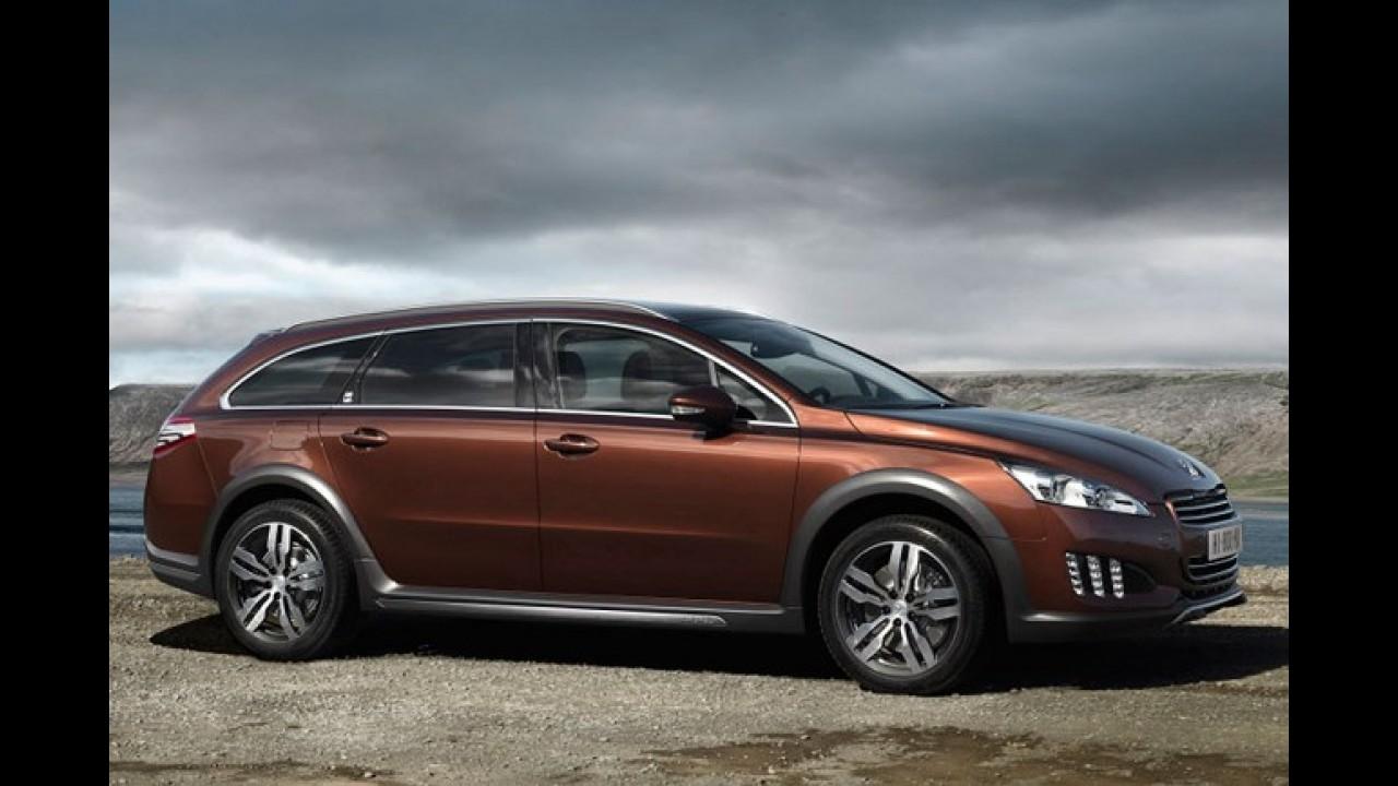 Peugeot apresenta oficialmente versão aventureira de luxo RXH para 508 SW