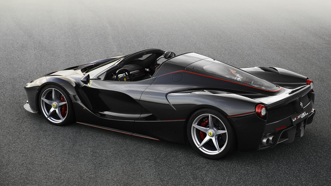 Ferrari LaFerrari open-top Spider