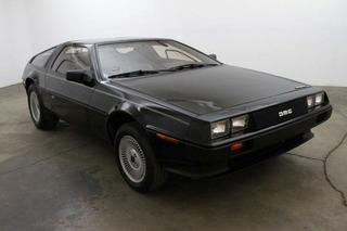 This Rare Black DeLorean is a 121 Mile Beauty