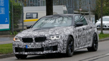 2017 BMW M5 spy photo
