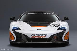 McLaren 650S Sprint Races Towards Pebble Beach Debut