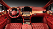 Red crocodile skin gives extra bite to Mercedes GLE Coupe interior