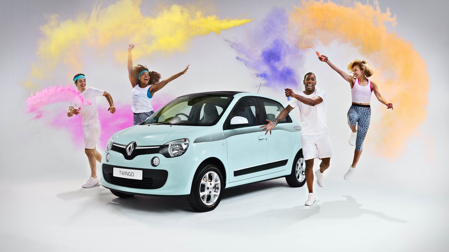 Renault Twingo gets happy with THE COLOR RUN special edition