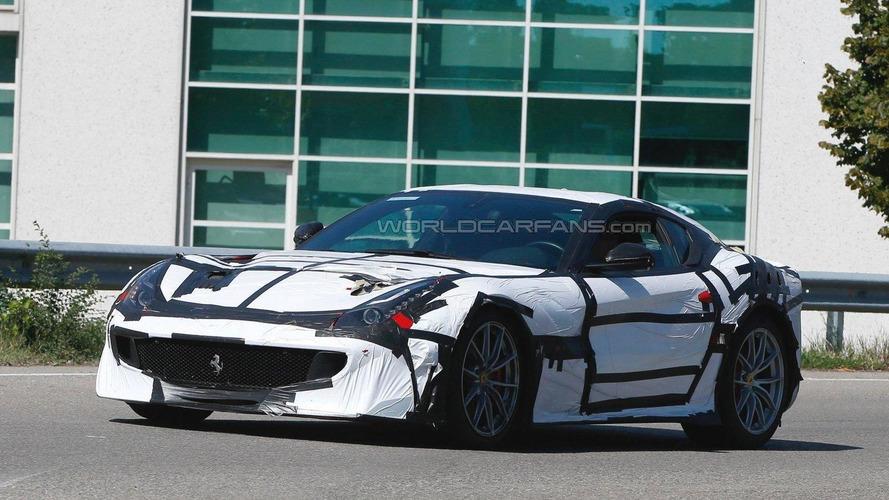 Ferrari F12 GTO spied in Maranello