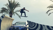 Lexus shows the Hoverboard in action [video]