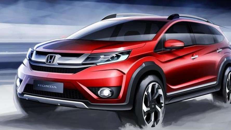 Honda BR-V crossover prototype teased ahead of Indonesian Auto Show debut