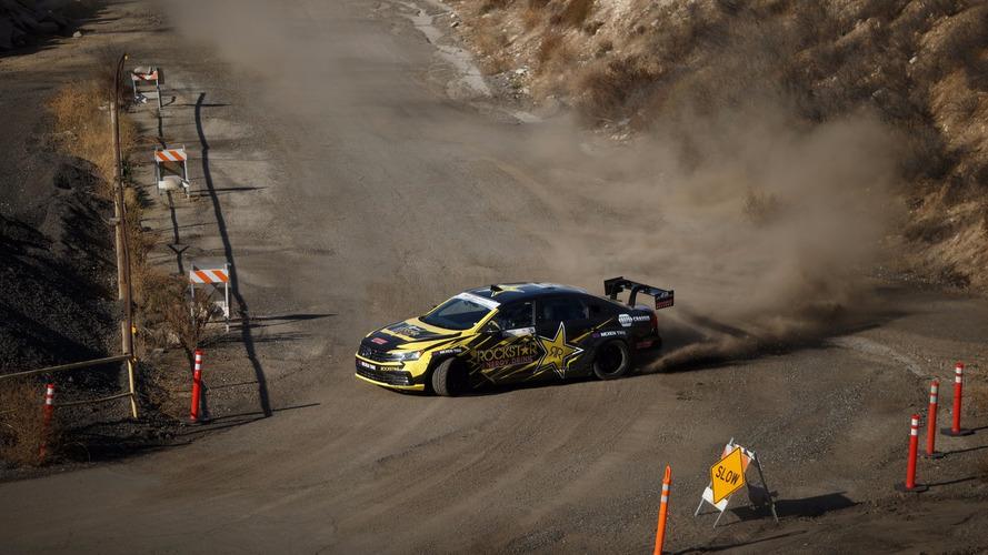 Watch Tanner Foust go drift crazy