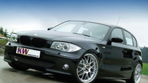 KW coilover kits in 3 Variants for the BMW 1 Series