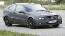 2008 Mercedes C Sport Coupe Spied