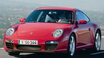 Artist rendering of 2009 Porsche 997 Facelift