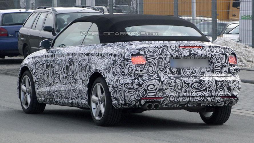 2014 Audi A3 Cabrio spied in Europe