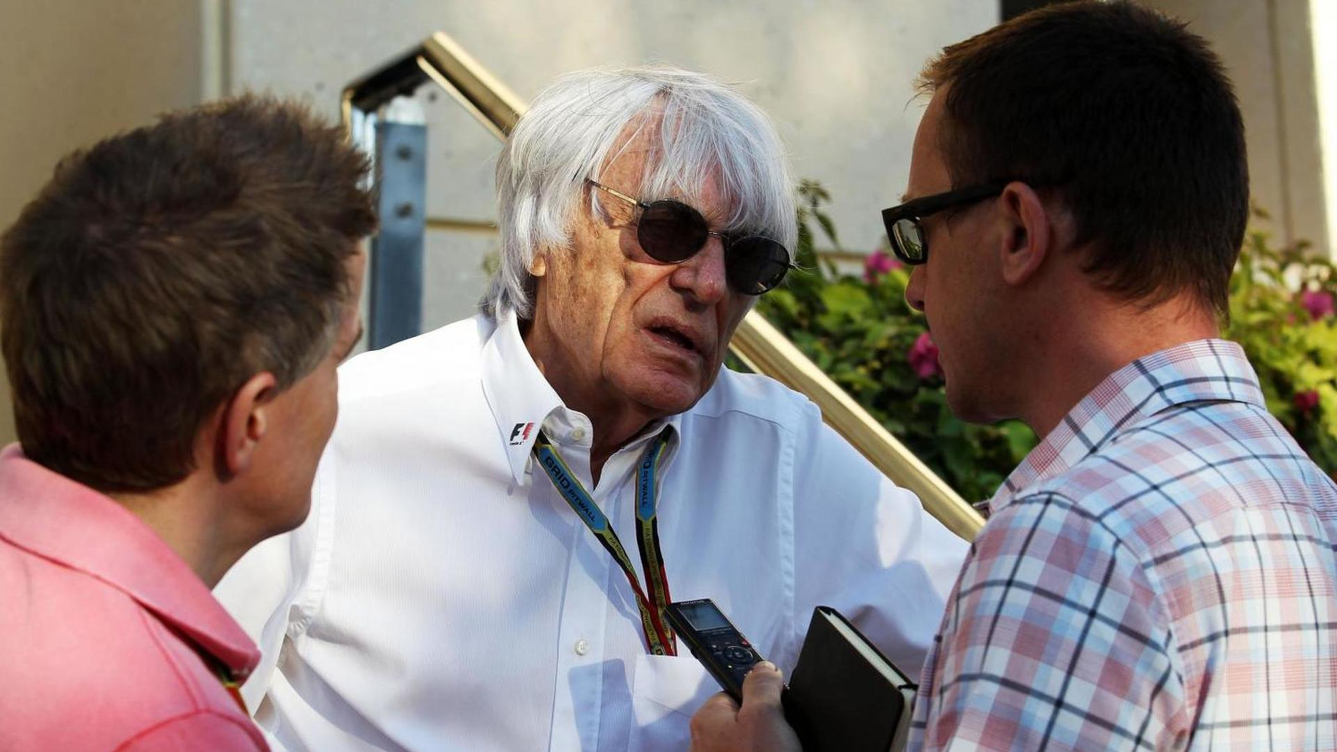 Smaller teams less committed to F1 - Ecclestone