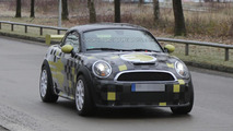 2014 MINI E Race Coupe spied in Munich