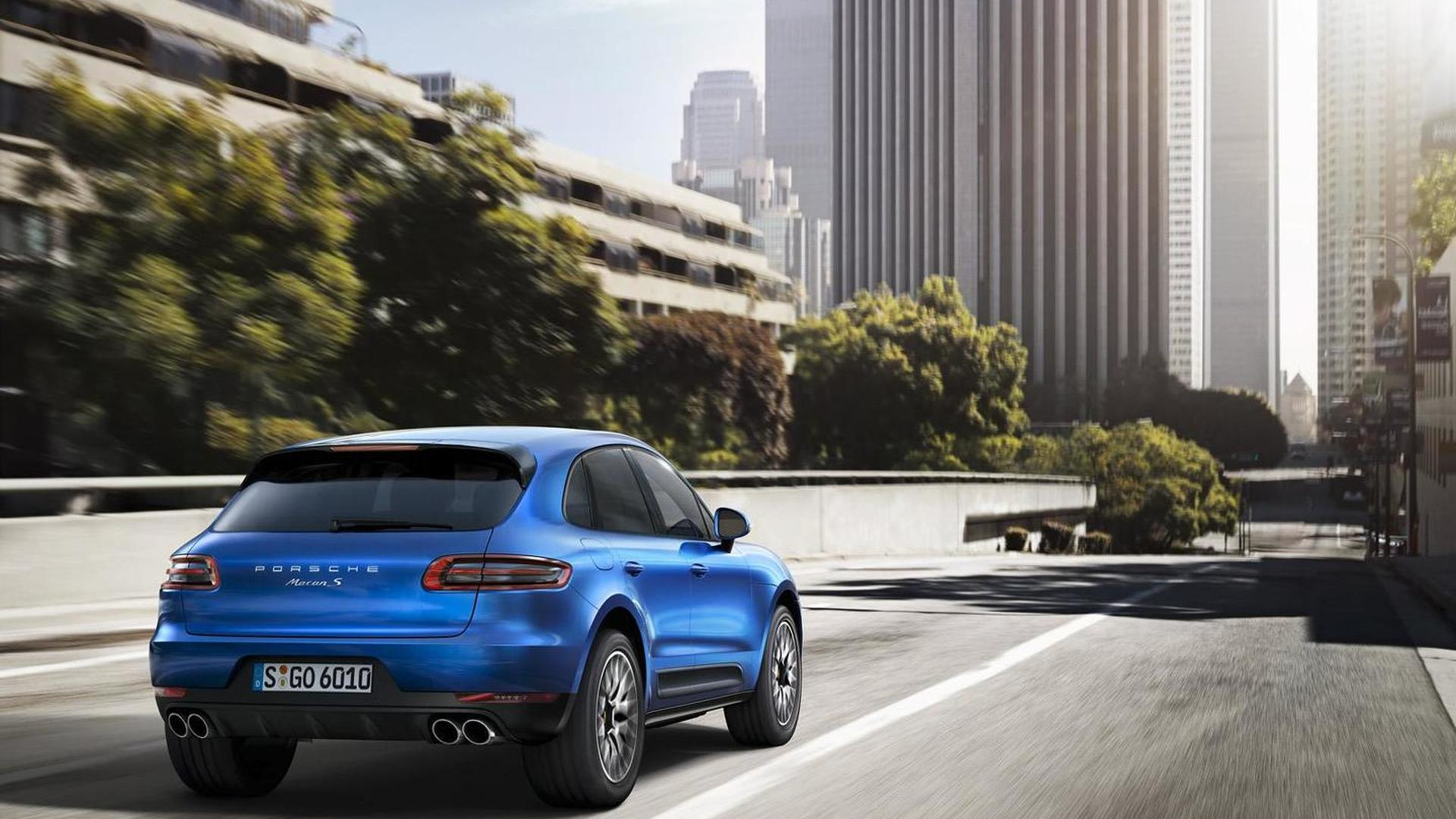 2014 Porsche Macan compact SUV launched at Los Angeles Auto Show