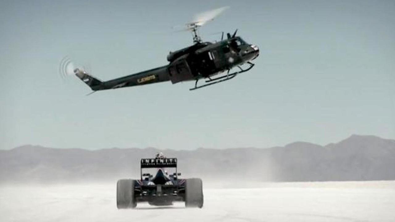 Red Bull RB7 on the Salinas Grandes salt flats 21.10.2013