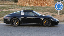Porsche 911 Targa facelift spy photo