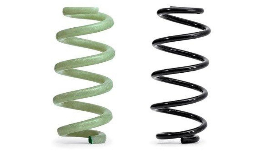 Audi to use lightweight glass fiber-reinforced polymer springs