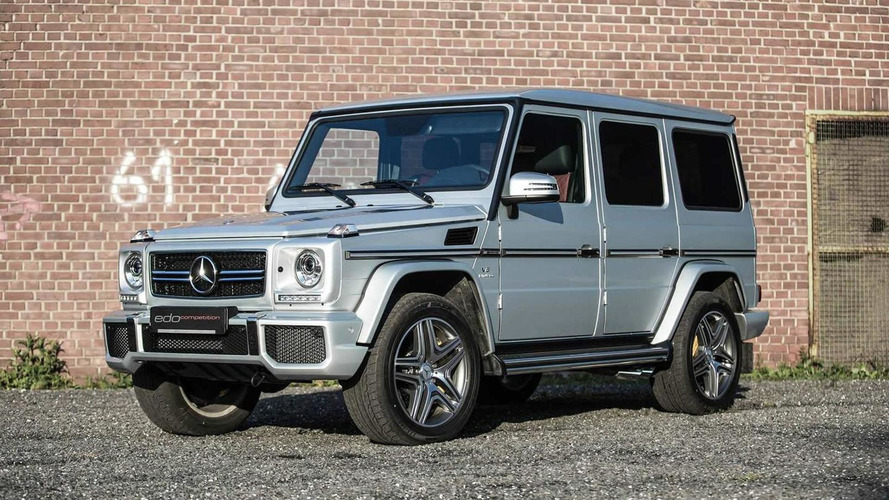 Edo Competition tricks out Mercedes-Benz G63 AMG