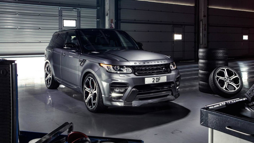 Overfinch tunes the Range Rover Sport