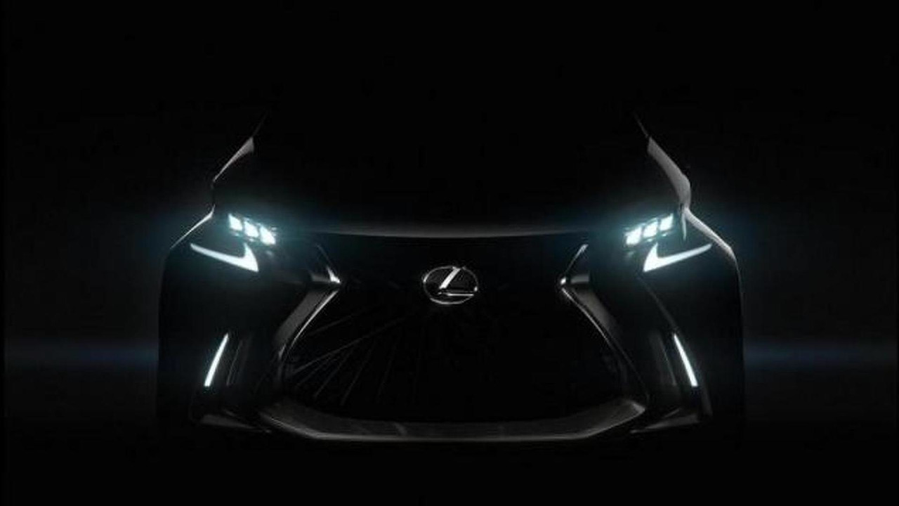 Purported teaser image of the Lexus LF-SA concept