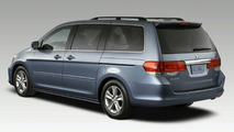 2008 Honda Odyssey Facelift Revealed