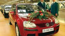 23 Millionth VW Golf Leaves Assembly Line