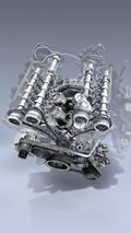 New Mercedes-Benz 3.5 liter V6 engine 07.05.2010