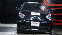 Toyota iQ and Avensis Receive 5-Star Euro NCAP Safety Rating