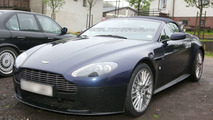 Aston Martin Vantage V12 Roadster Spy Photo