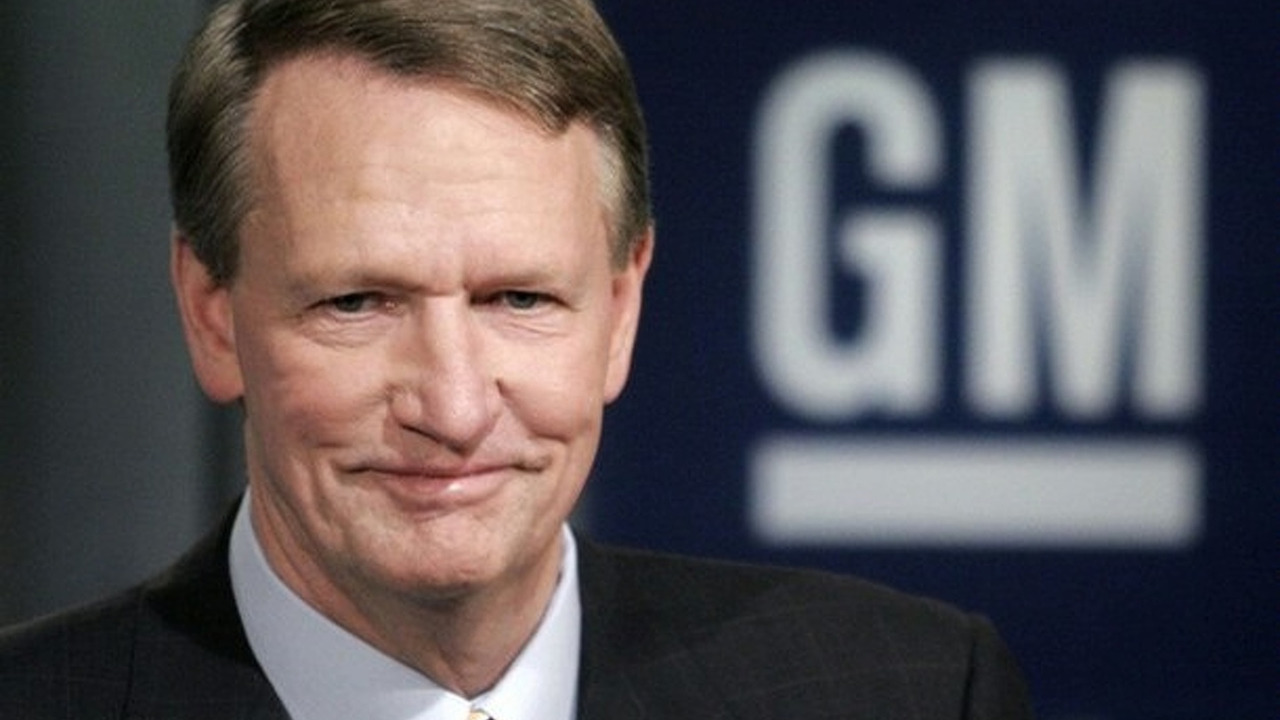 Rick Wagoner, CEO General Motors