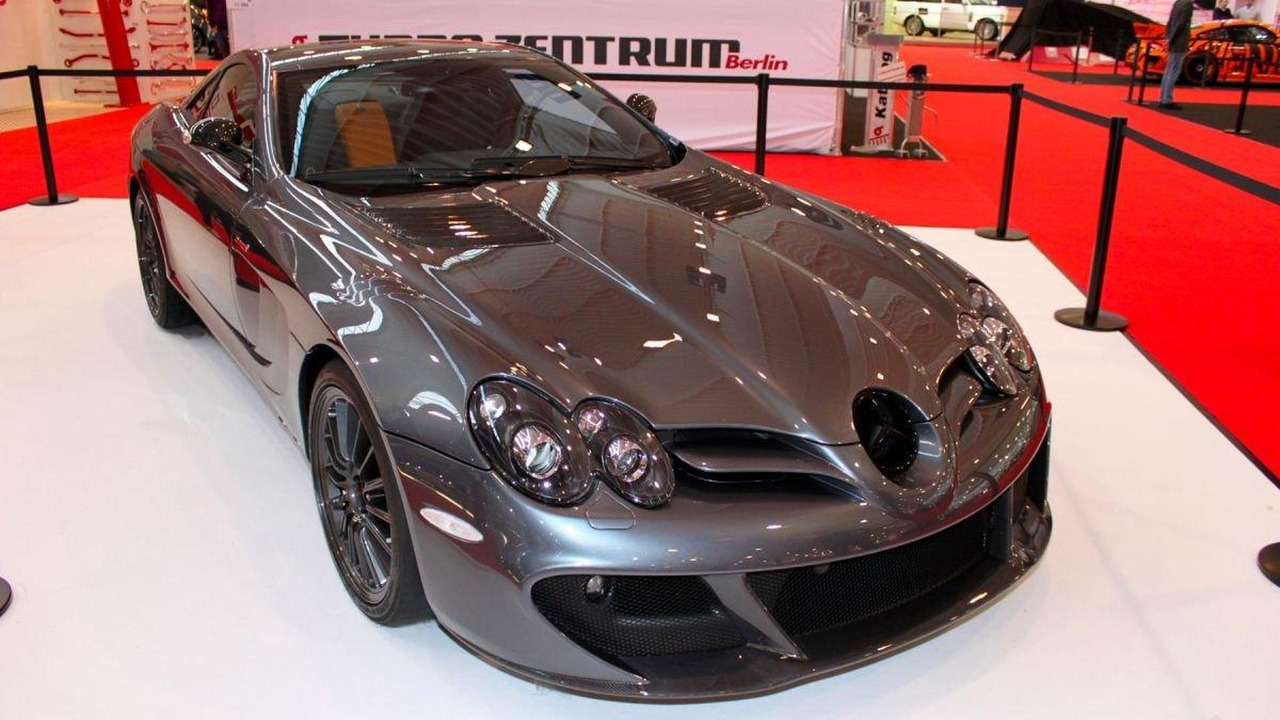 Mercedes-Benz SLR McLaren Edition live in Essen, 03.12.2010