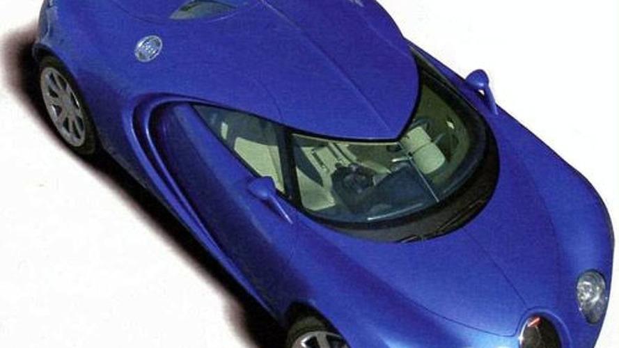 Secret 1999 Bugatti Design from Walter de'Silva Discovered
